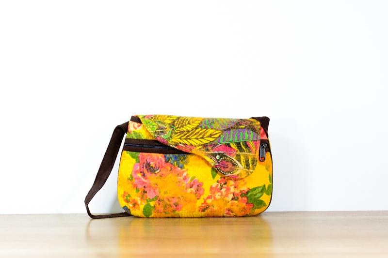 Small Abstract Bag